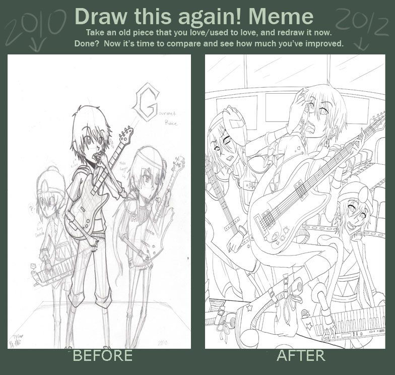 Before+After Meme - GourmetRace by DJHyena12