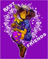 [Undertale] Best Friends by CaptainHaha