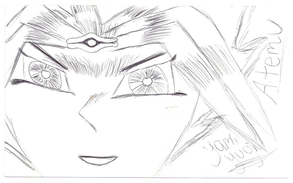 Pen Line Drawing Artists : Pen line art of yami by itazuk on deviantart