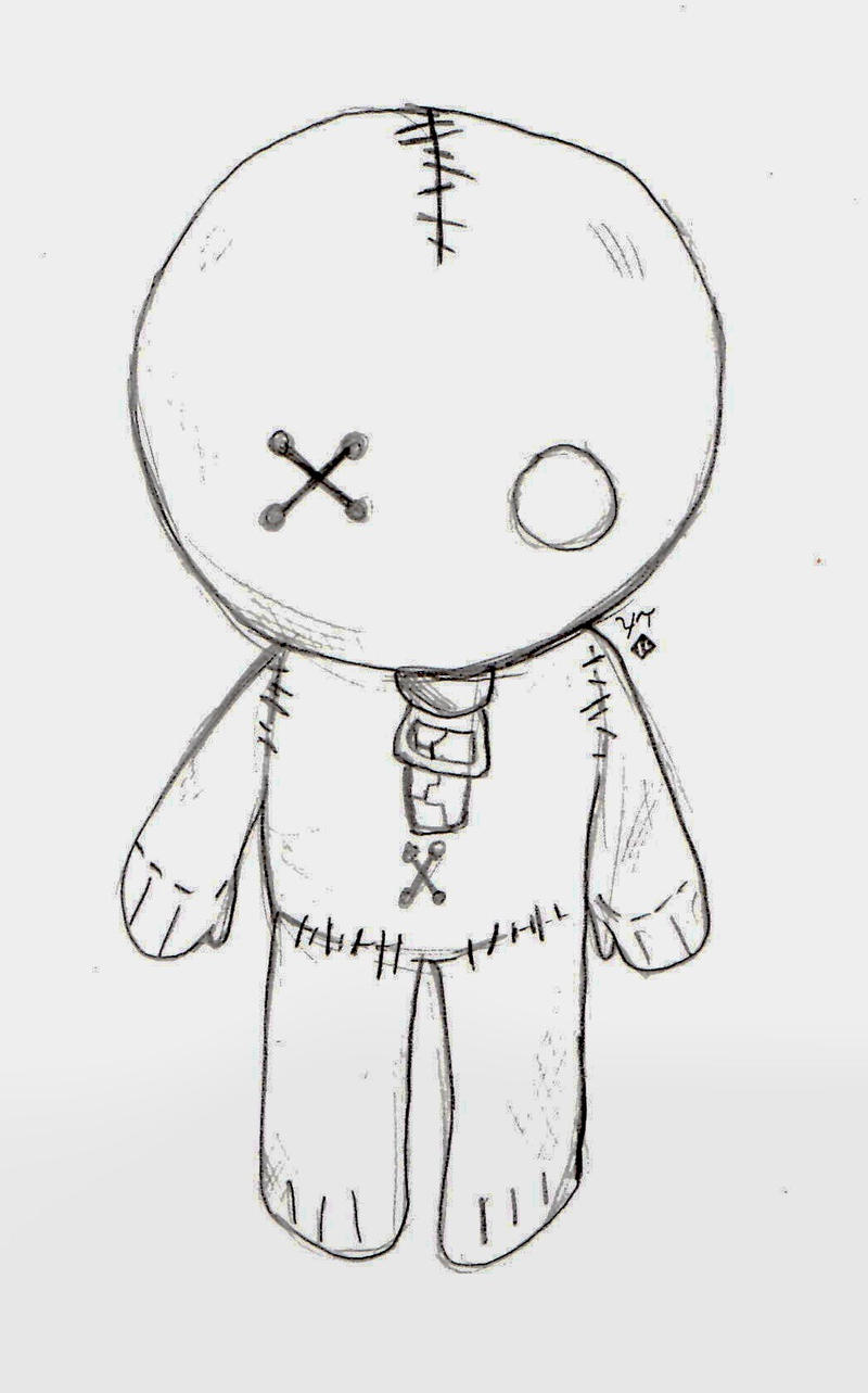 Emo Heartbreak Drawings Emo Drawings Emo Doll by