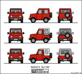 Suzuki SJ-410 by algarve