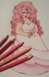 Rose Quartz by MonsterKirsche