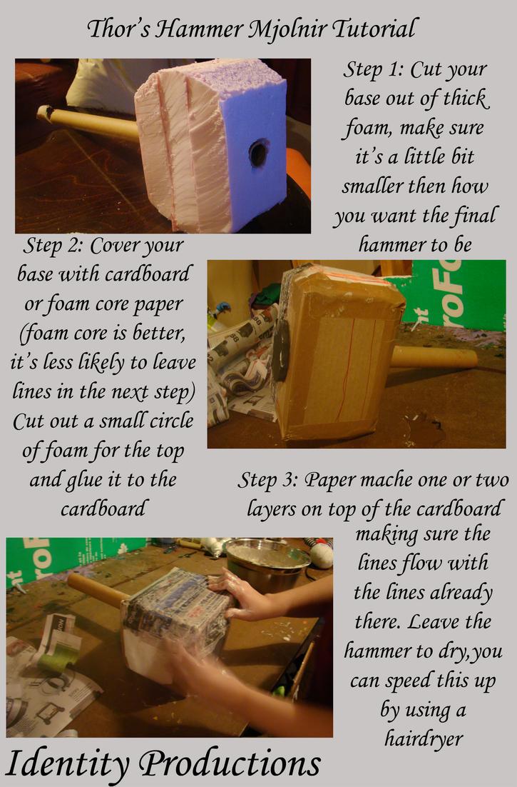 thor s hammer mjolnir tutorial page 1 by fennec777 on deviantart