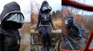 Futuristic Post-Apocalyptic Hood and Cowl 3