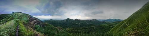 Mt. Batulao by ledzepp25