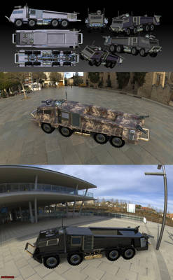 The Ugly War Truck