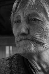 85 years old fire in those smiling eyes by FuZoom