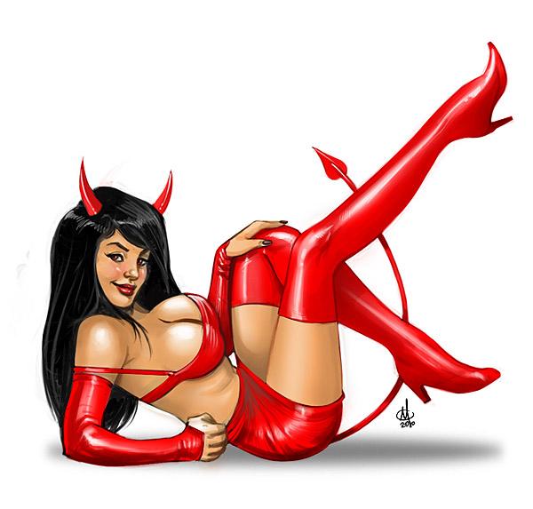 hot devil girl