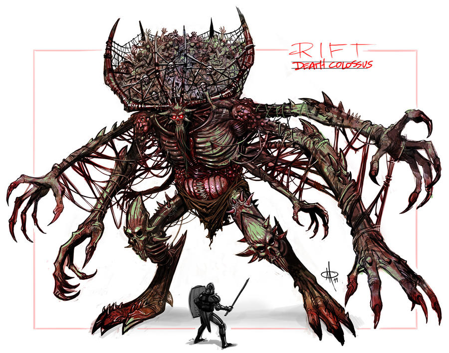 RIFT - Death Colossus by mattolsonart