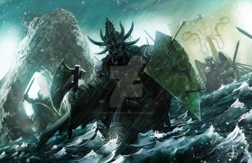 Victarion Greyjoy by mattolsonart