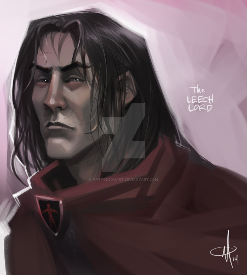 The Leech Lord - Roose Bolton by mattolsonart