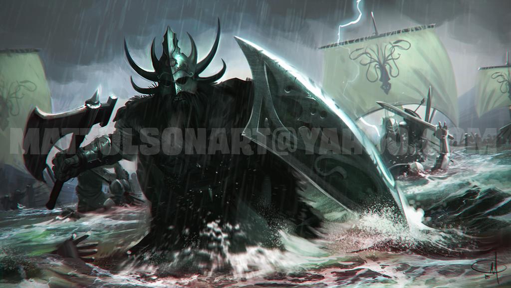 Victarion Greyjoy (repaint)