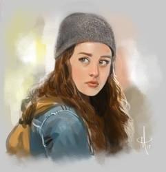 Hannah by mattolsonart