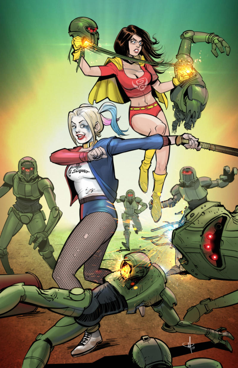 Harley And Ruby by mattolsonart