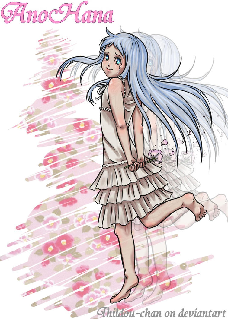 ::My Animelist Challenge:: AnoHana (#5) by Thildou-chan