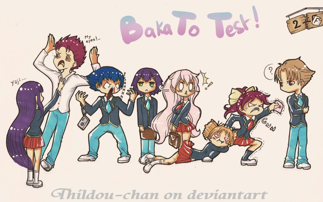 ::My Animelist Challenge:: Baka To Test (#6) by Thildou-chan
