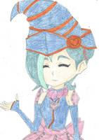 Zexal Tori as Gagaga Girl by WinxGirl07