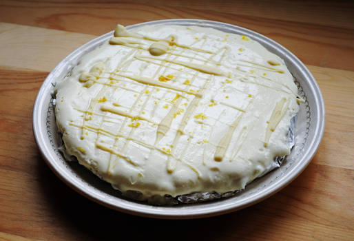 No-Bake Lemon Cheesecake