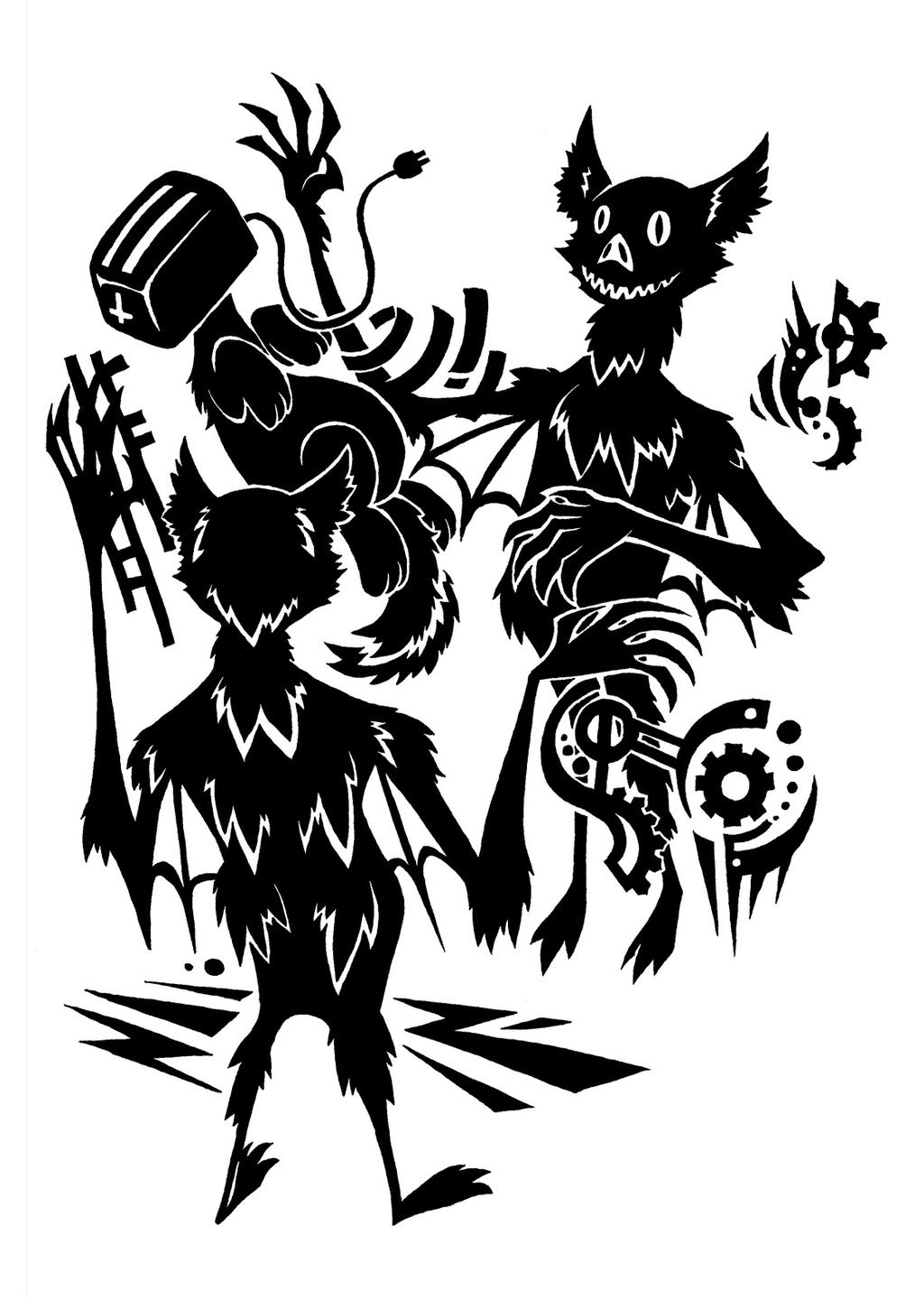 Sunnyclockworks Artwork Series Ii Scp Foundation