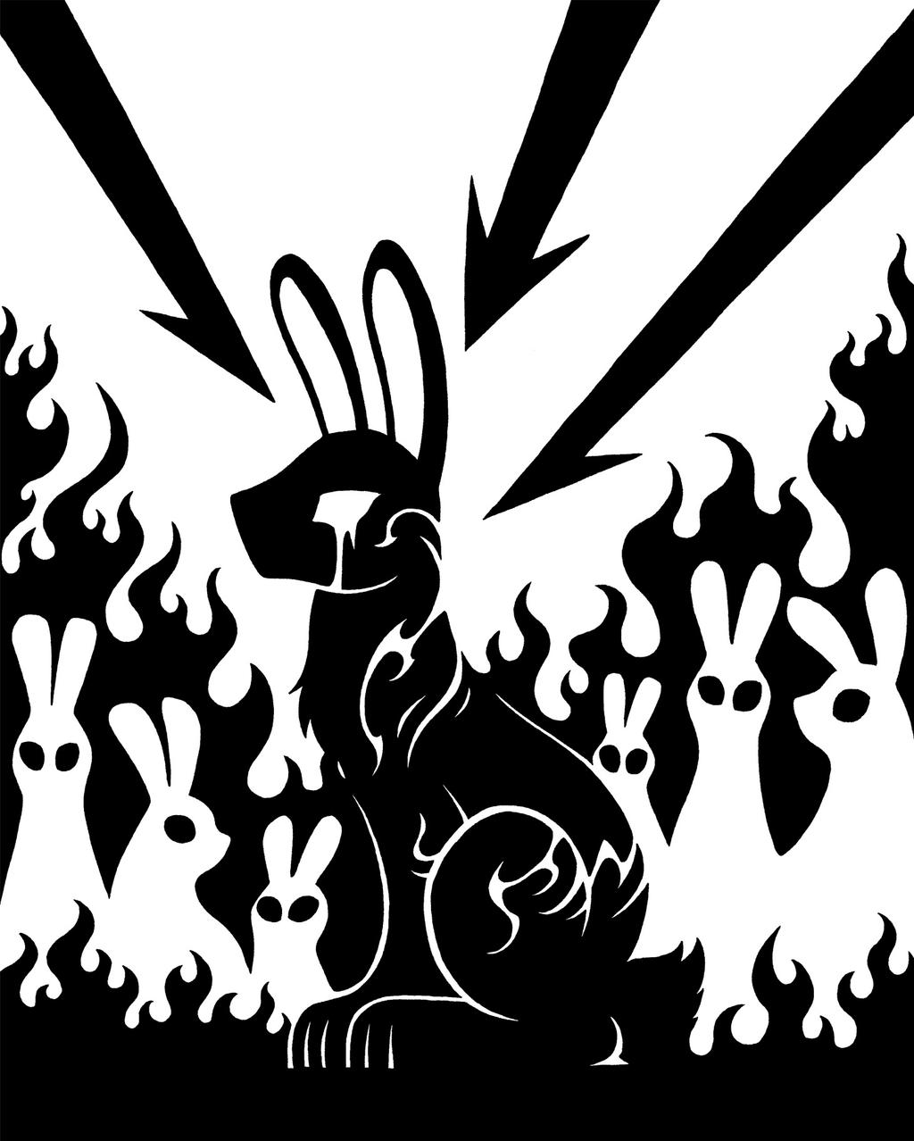 SCP-2036 - Fire Rabbits
