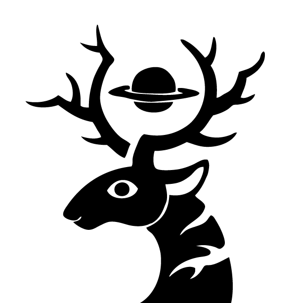 Saturn Deer Logo 03