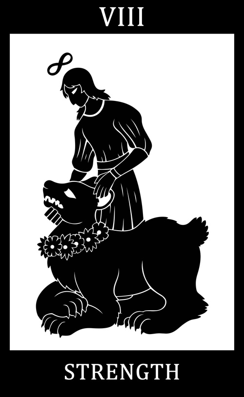 VIII - Strength: SCP-2091 - A Bear and His Granddaughter