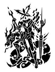 Slaying the Dragon by SunnyClockwork