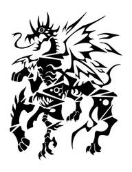 Hound of Tindalos by SunnyClockwork