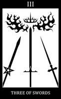Three of Swords - The Triumvirate by SunnyClockwork