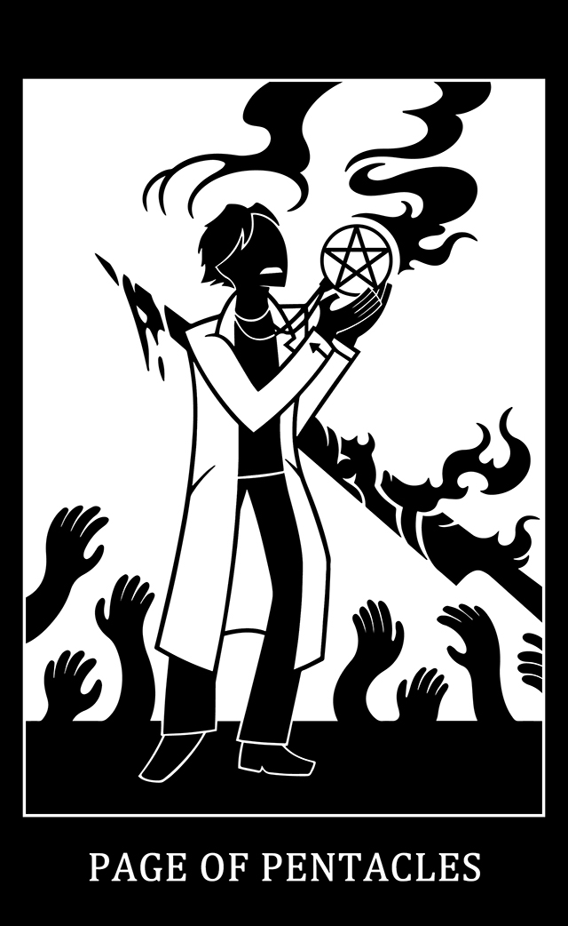Page of Pentacles: Dr. Bright