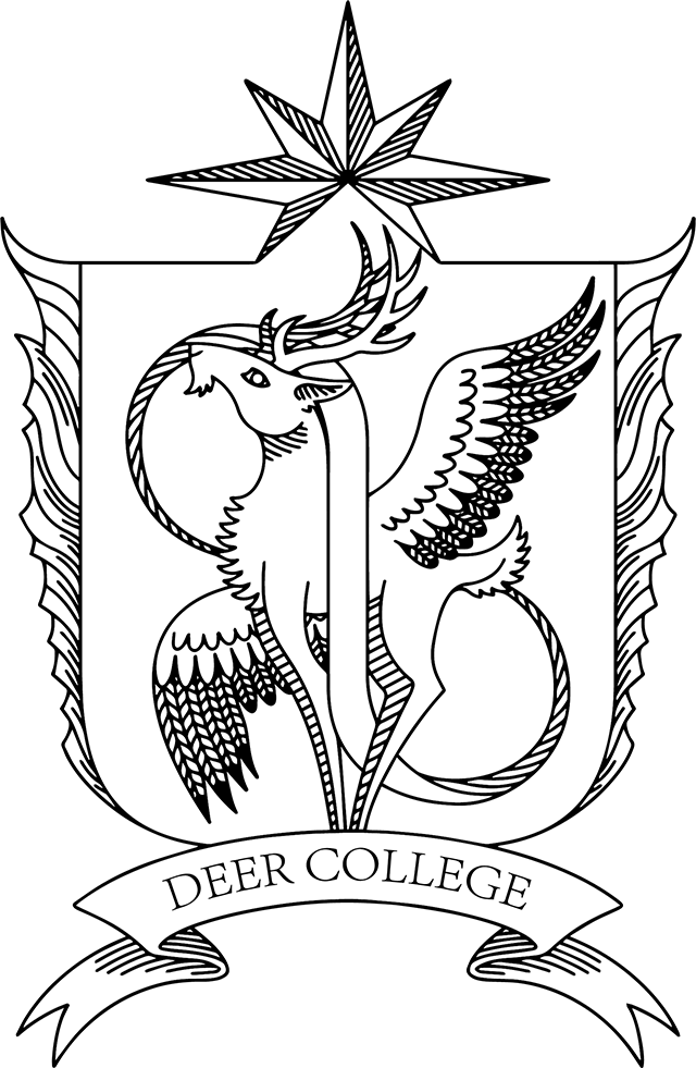 Deer College Badge