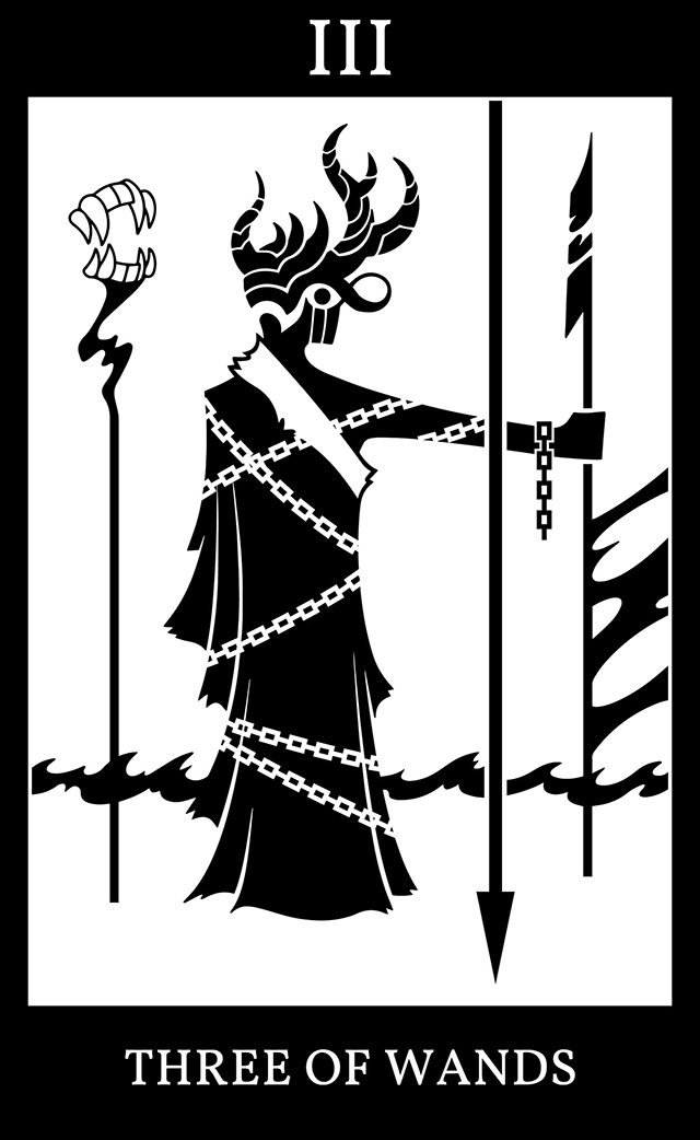 Three of Wands: Three Laws of the Scarlet King (Tufto's Proposal)