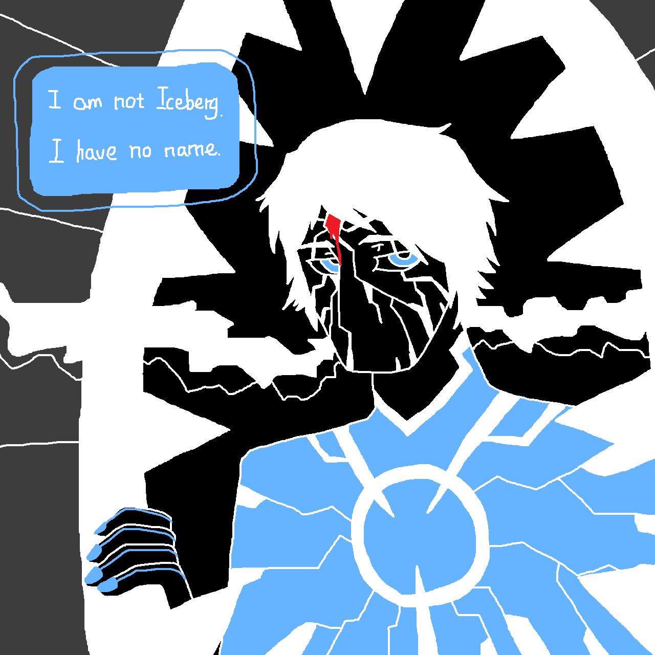 Dr. Iceberg - Calm (MS Paint)