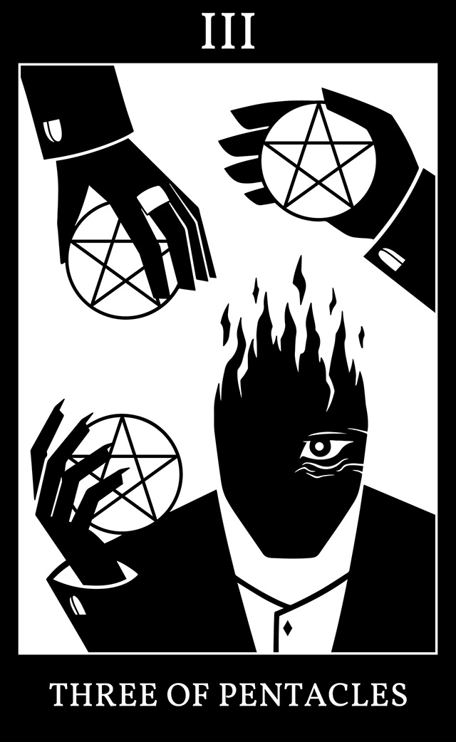 Three of Pentacles - Marshall, Carter and Dark