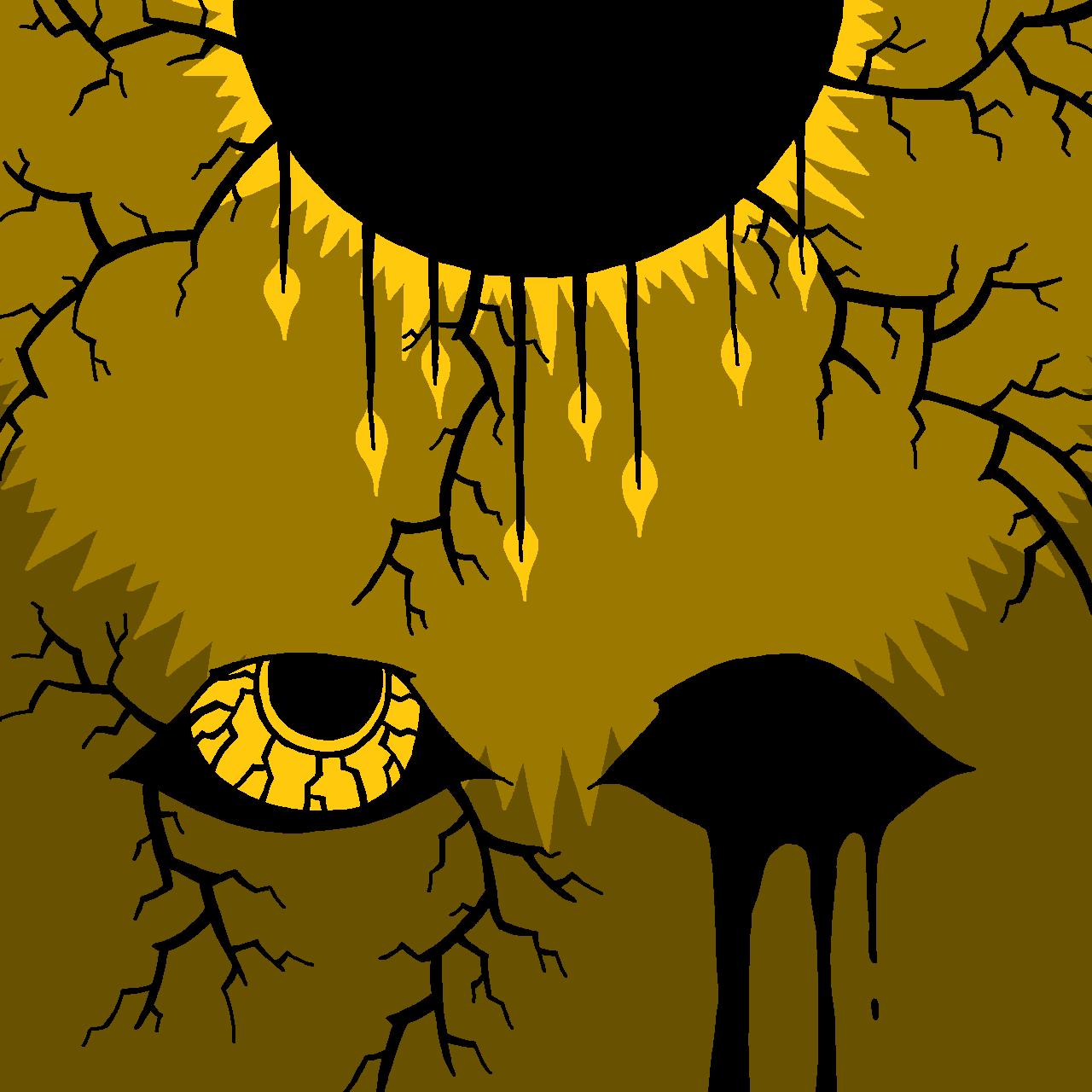 SCP-5145 - I Buried The Sun (MS Paint)
