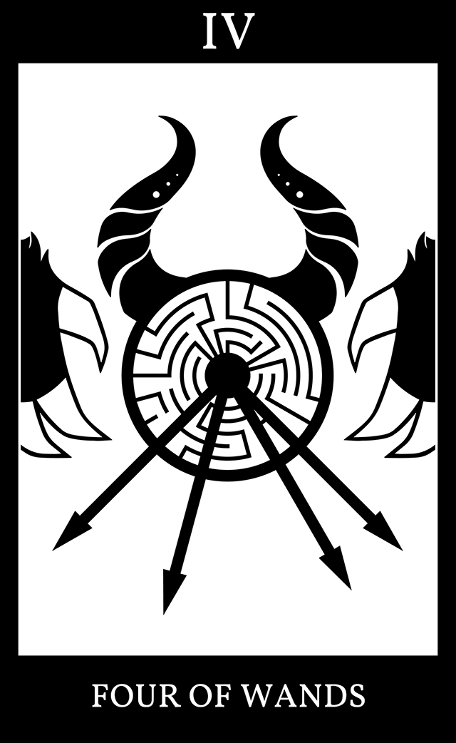 Four of Wands: SCP-5015 - (Not) All Who Wander Are Lost