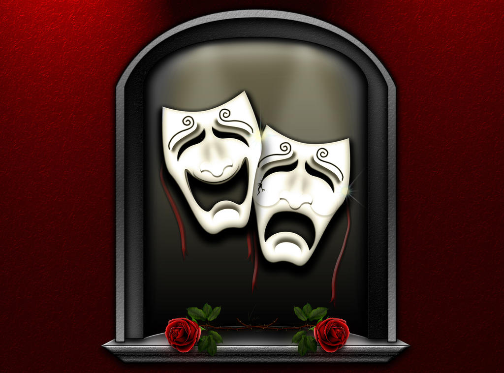 Comedy and Tragedy by theArconian on DeviantArt