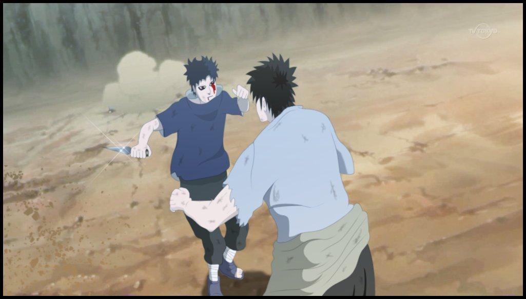 uchiha shisui vs danzo -#main