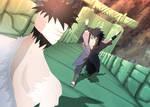 Sasuke vs Danzou
