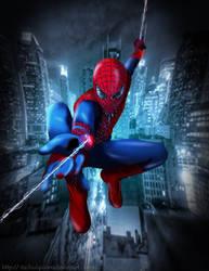 The Amazing Spiderman by itachiulquiorra