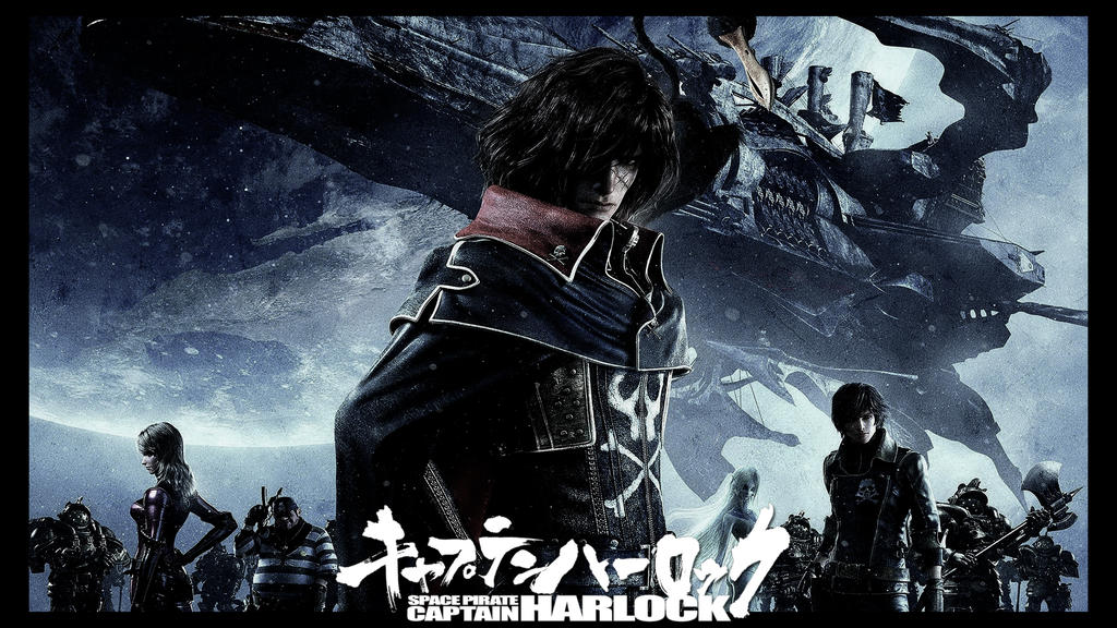 Space Pirate Captain Harlock Wallpaper 2013 By