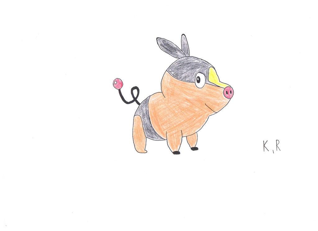 Tepig by AnimatedKingdom