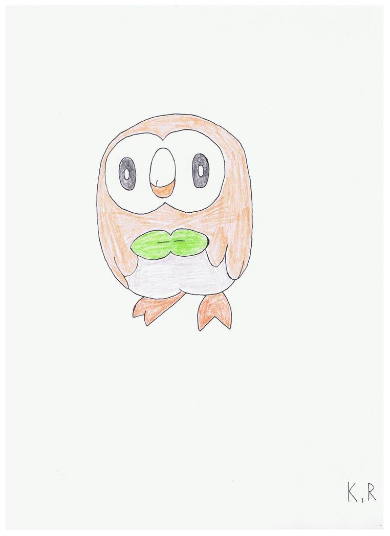Rowlet by AnimatedKingdom