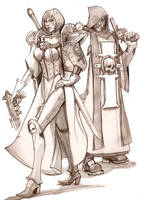 Inquisitor Lord and Staff by davenported