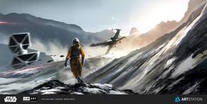 Star Wars - ILM Art Department Challenge by SocyArt