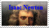 Sir Isaac Newton Stamp by Cheetaaaaa