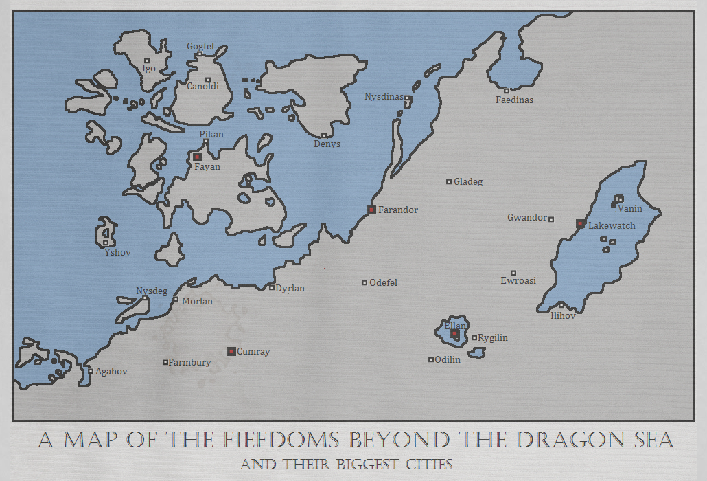 Fiefdoms beyond the Dragon Sea by Cheetaaaaa