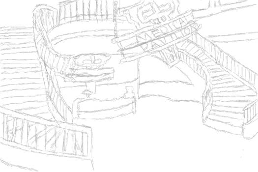 Bioshock- Medical Pavilion Sketch