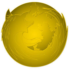 Firefox Gold by LouCypher