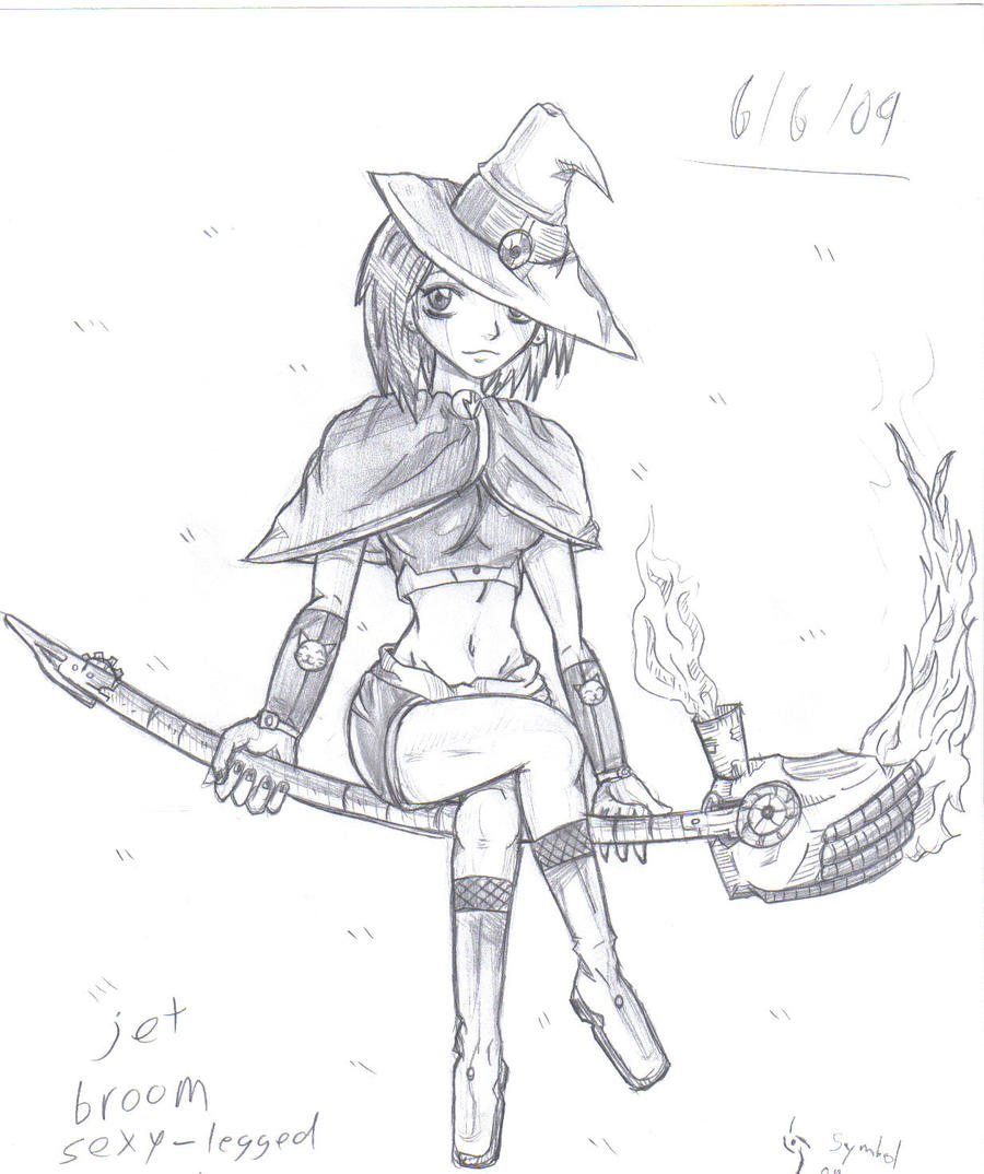 Anime witch by crystalblade13 on deviantart